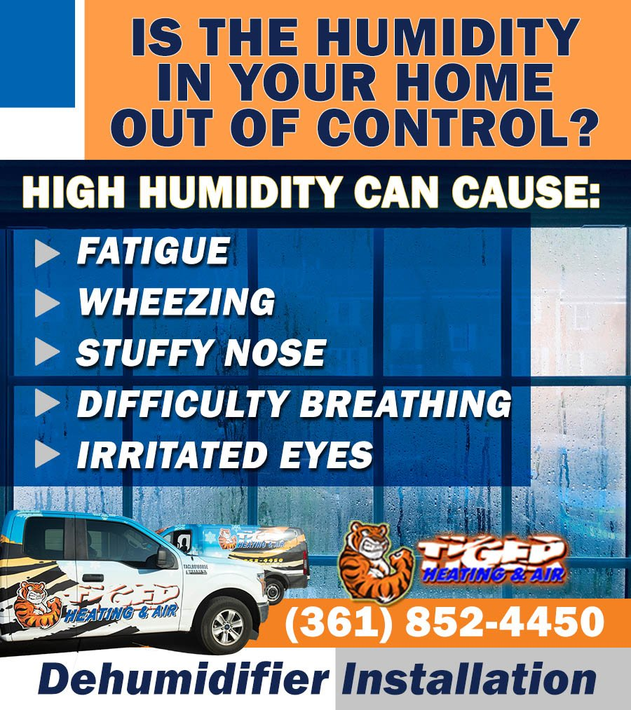 dehumidifier installation to resolve problems with high humidity levels in your home