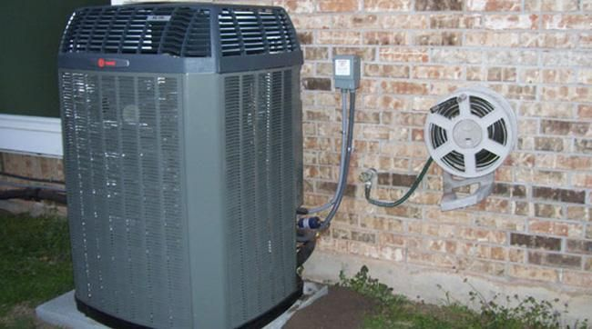 New Trane AC installed by Tiger Air in Corpus Christi, TX