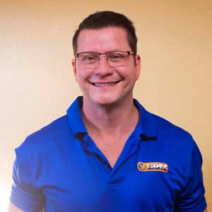 Thomas, the president of Tiger Heating and Air in Corpus Christi