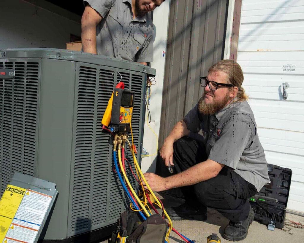 Tiger A/C repair technicians in Corpus Christi
