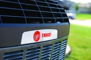 Trane air conditioning unit, the brand Tiger Heating & Air installs