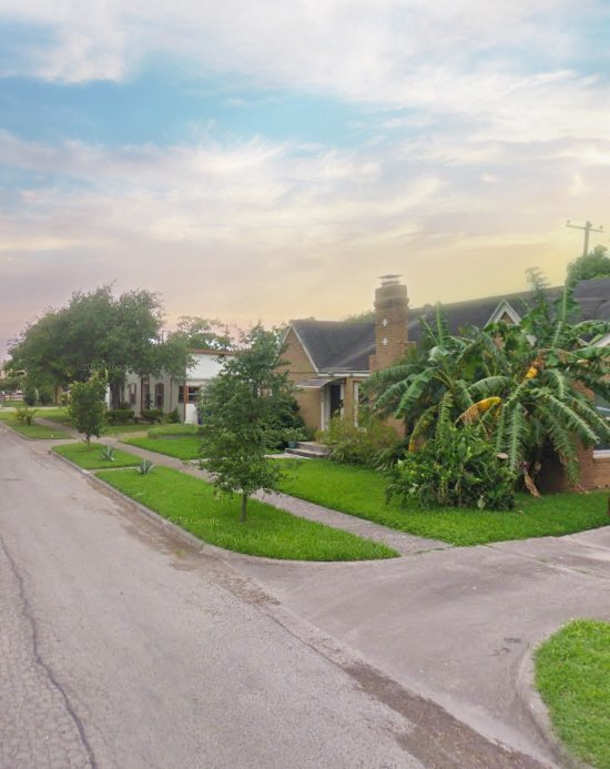 Corpus Christi neighborhood, homes on Palmero St.