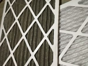 Dirty air filter, something that can cause an air conditioner to stop blowing cold air