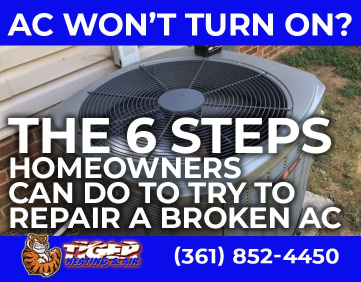 6 Steps to Repair an Air Conditioner that Won't Turn On