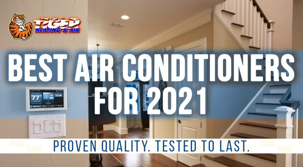 Promotional ad for blog on the best air conditioners for 2021