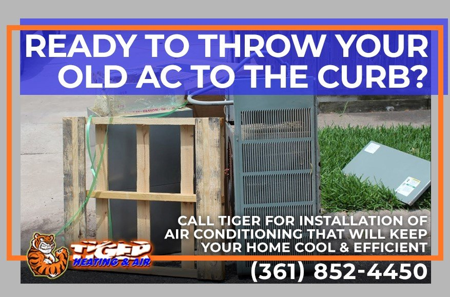 Ready to throw your old AC to the curb? Call Tiger Heating & Air for new cooling installation