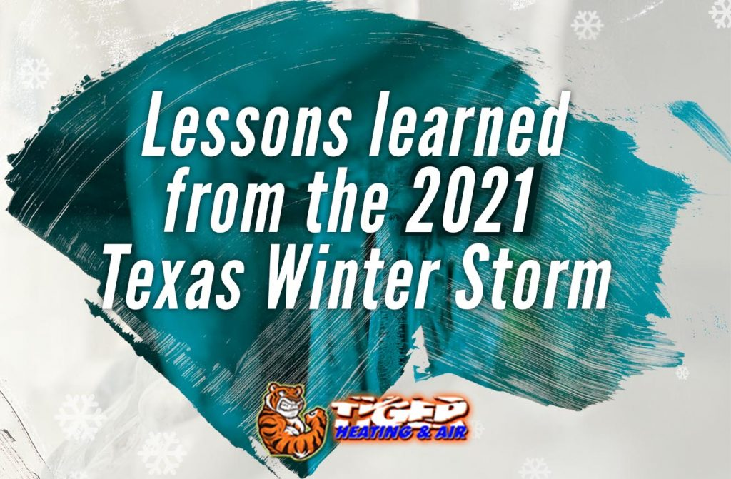 Lessons learned from the 2021 Texas Winter Storm